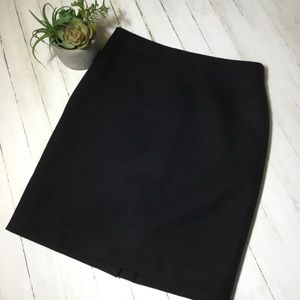 J. Crew Skirts - J.Crew no. 2 pencil skirt black double serge wool